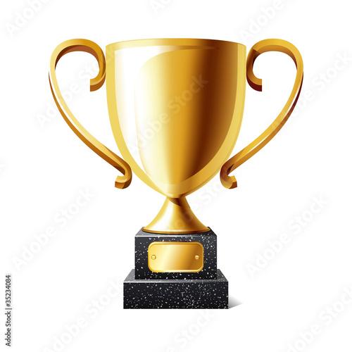 Canvas Print Trophy cup