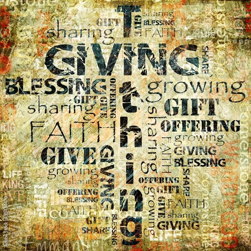 Giving and Tithing Background #35434470