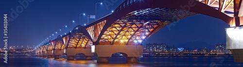 Beautiful bridge in South Korea