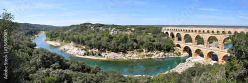 Pont du Gard Fototapete