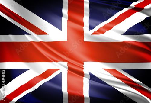 UK Flag Fotobehang