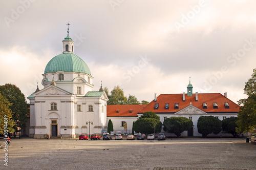Fototapeta premium Rynek Nowego Miasta Warszawa