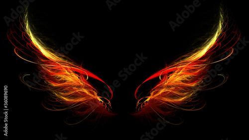 Obraz na płótnie hell wings