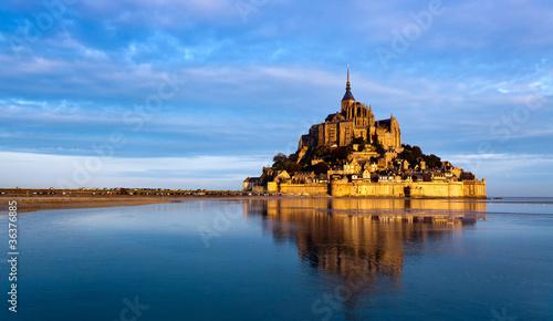 Canvas Print Le Mont Saint Michel, France