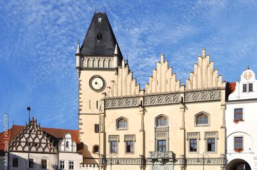 Vászonkép Tabor town, Czech Republic