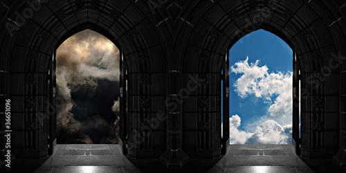 Photo Doorways to heaven or hell