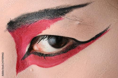 Fotografia 歌舞伎メイクの目