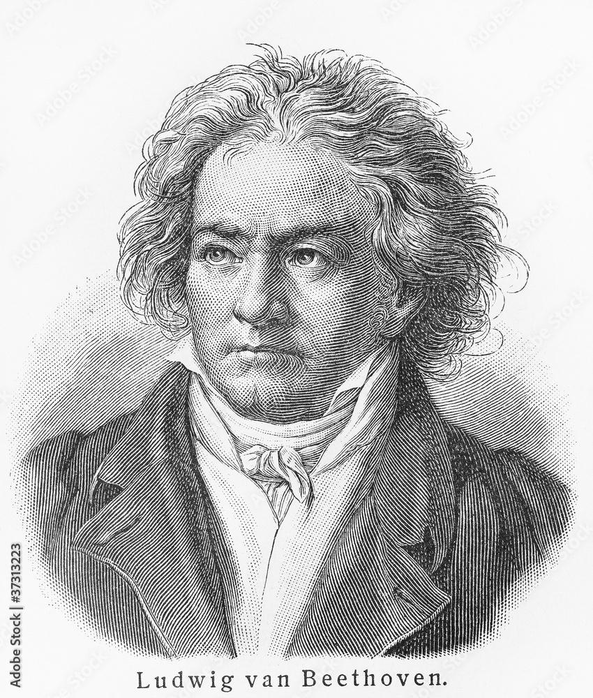 Ludwig van Beethoven <span>plik: #37313223   autor: nickolae</span>