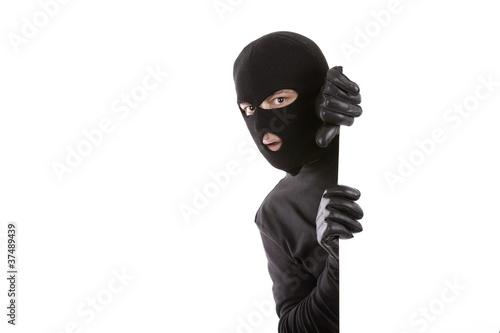 Canvastavla masked Man
