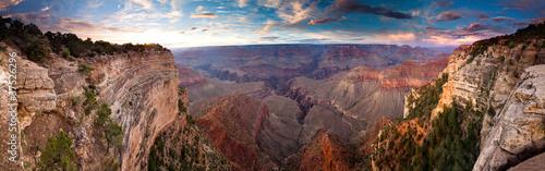 Canvas Print Grand Canyon Sunset