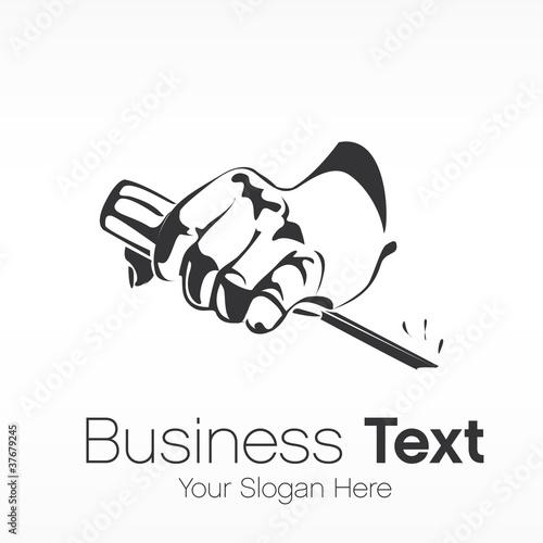 logo business Fototapeta