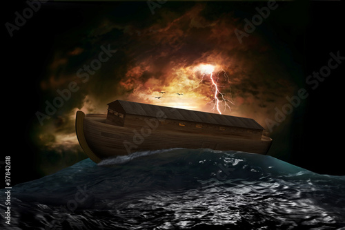 Wallpaper Mural Noah's Ark
