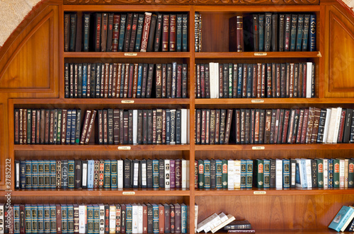 Fotografie, Tablou Holy Jewish books