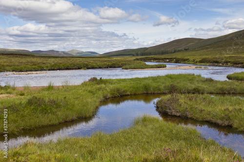 Slika na platnu Loch Muick Water