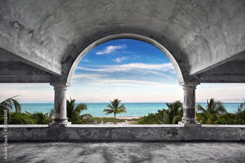 Wallpaper Mural Ocean Front Mansion