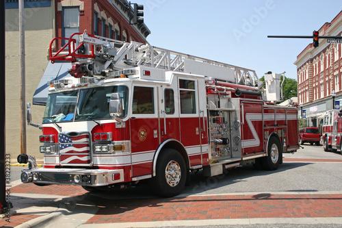 Fotografia, Obraz fire engine