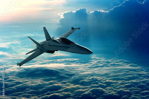 Fotografie, Obraz Fighter jet