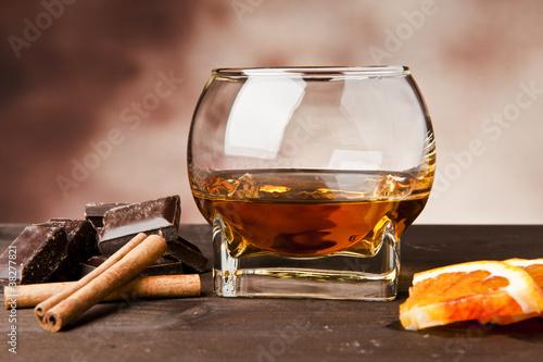 Carta da parati Rum e cioccolato