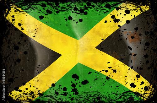 Murais de parede flag of Jamaica