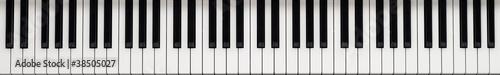Fotografie, Obraz Piano keyboard
