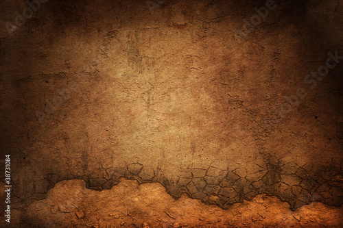 brick old slyle wall background or texture Fototapeta