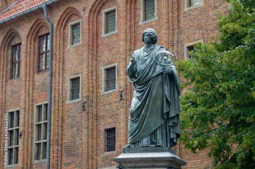 Pomnik astronoma, Mikołaj Kopernik, Polska, Toruń