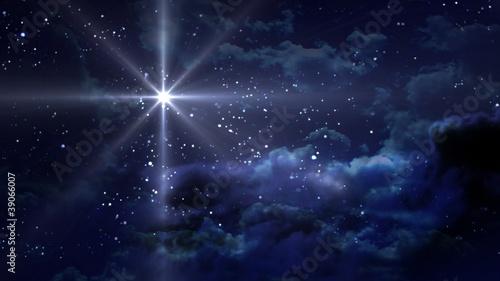 Foto blue Starry Night