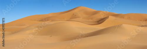 Obraz na płótnie dunes of Erg Chebbi in Morocco