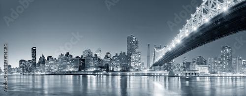 New York City night panorama #39114484