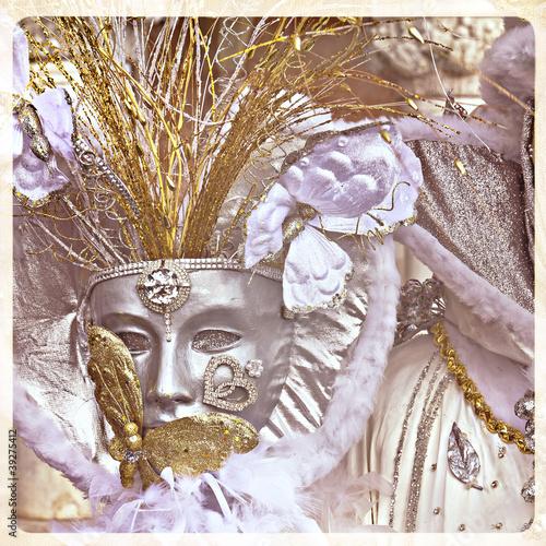 Fototapeta Maschera, carnevale di Venezia