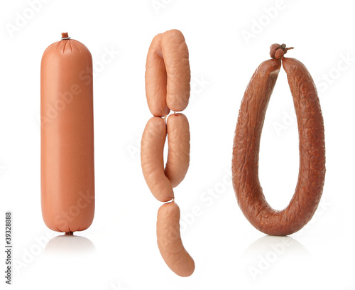 Obraz na płótnie smoked sausage