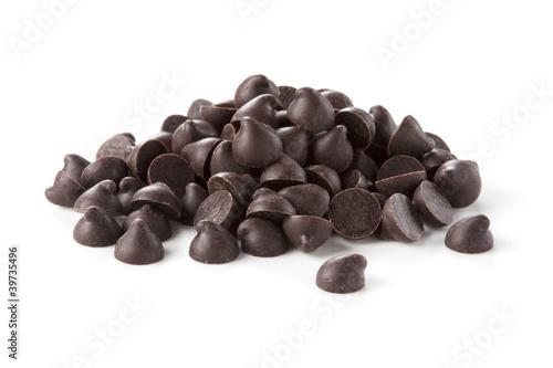Obraz na plátně Chocolate chips