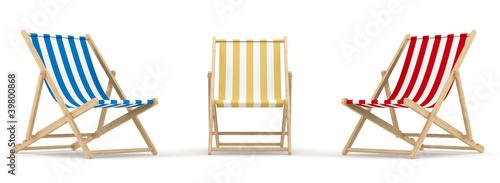Fotografiet 3 deck chair