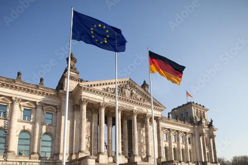 Reichstag - Bundestag in Berlin