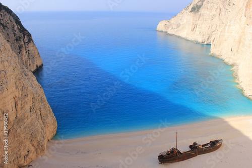 SHIPWRECK at Zante, Greece фототапет