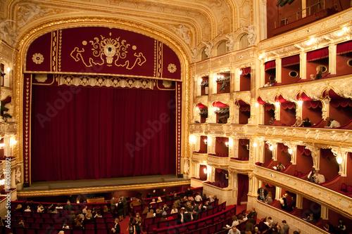 Interior of Opera house in Odassa, Ukraine Fototapeta
