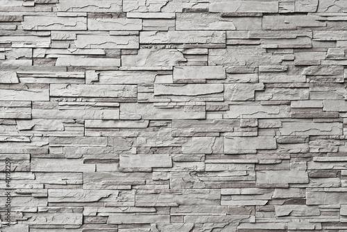 Carta da parati The gray modern stone wall