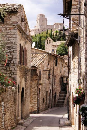 Medieval Italian street