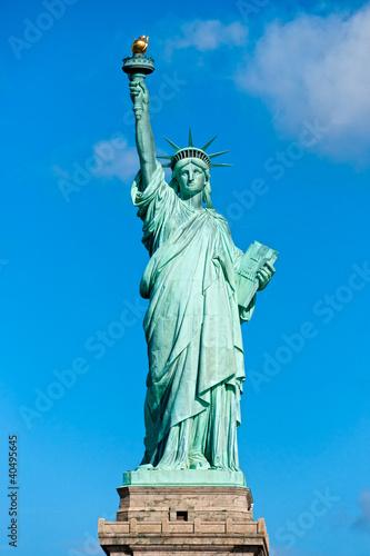 Fototapeta premium Amerykański symbol - Statua Wolności. Nowy Jork, USA.