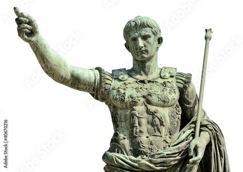 Obraz na płótnie Augusto (Gaius Iulius Cæsar Octavianus Augustus), Roma