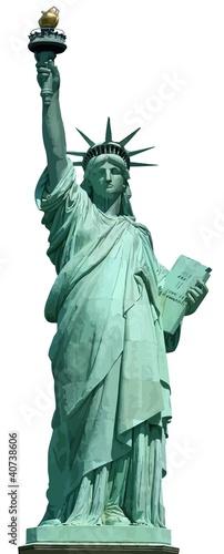 Canvas Print Statue of Liberty, New York