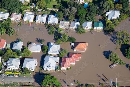 Obraz na plátne Brisbane Suburbs Flooding