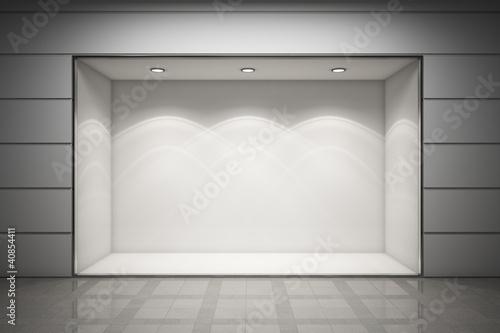 An empty storefront Fototapeta