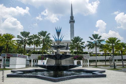 Masjid Negara - national mosque in Malaysia, Kuala Lumpur