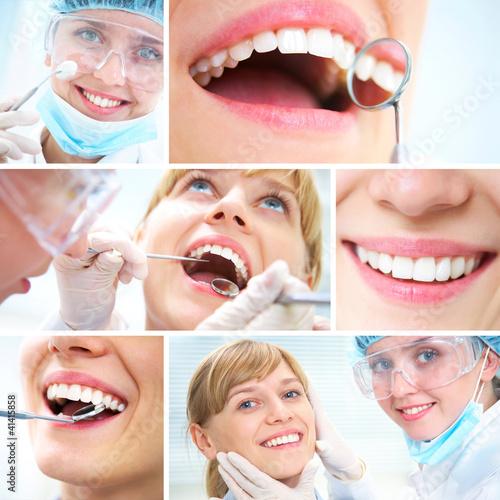 healthy teeth and Dental doctor #41415858