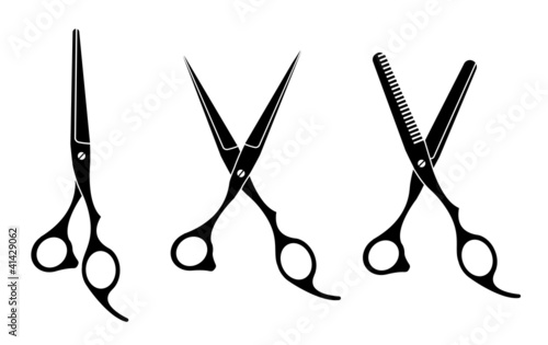 Canvas Print Scissors