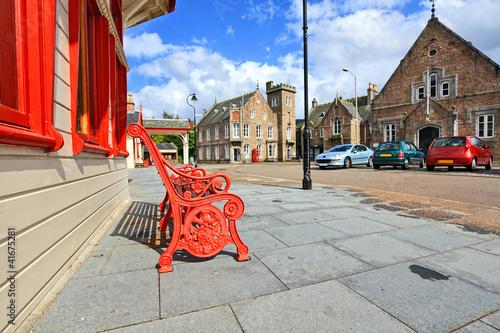 Fotografija The Royal Ballater railway station in Aberdeenshire, Scotland