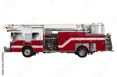Carta da parati Fire Truck