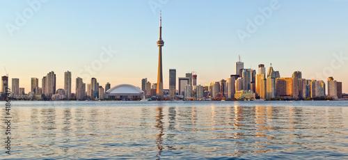 Toronto  skyline Tower downtown skyscrapers