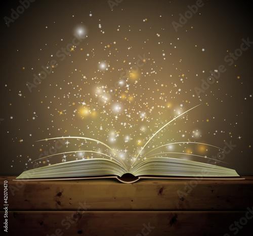 Tablou Canvas Magic book